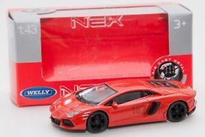 LAMBORGHINI-Aventador-LP-700-4-Welly-scala-44042-1-43-modello-Auto-Giocattolo-Bambino-Regalo
