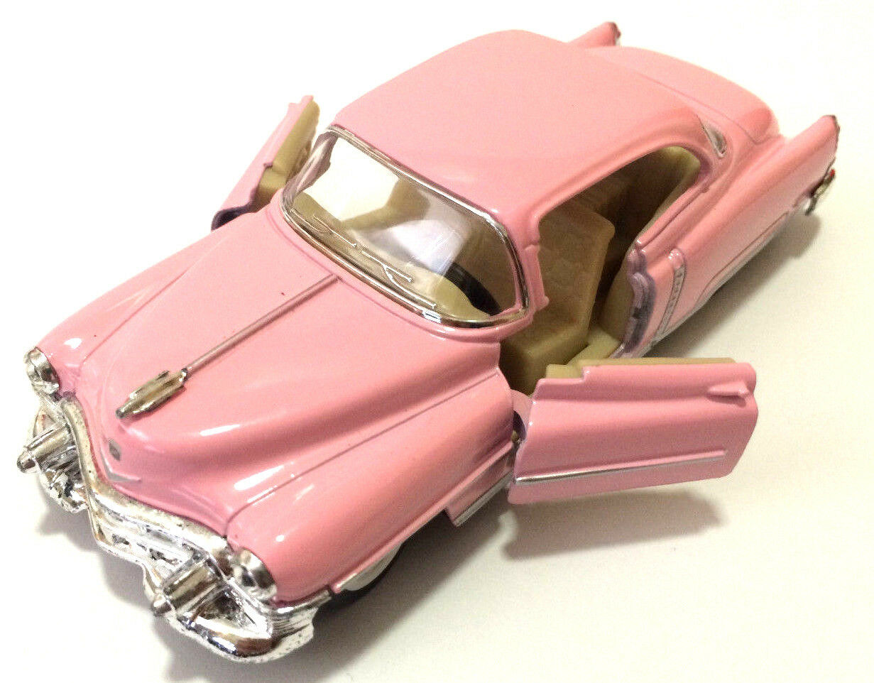 Oldtimer Sammlermodell 1953 Cadillac Series 62 beige 1:43 von KINSMART Neuware