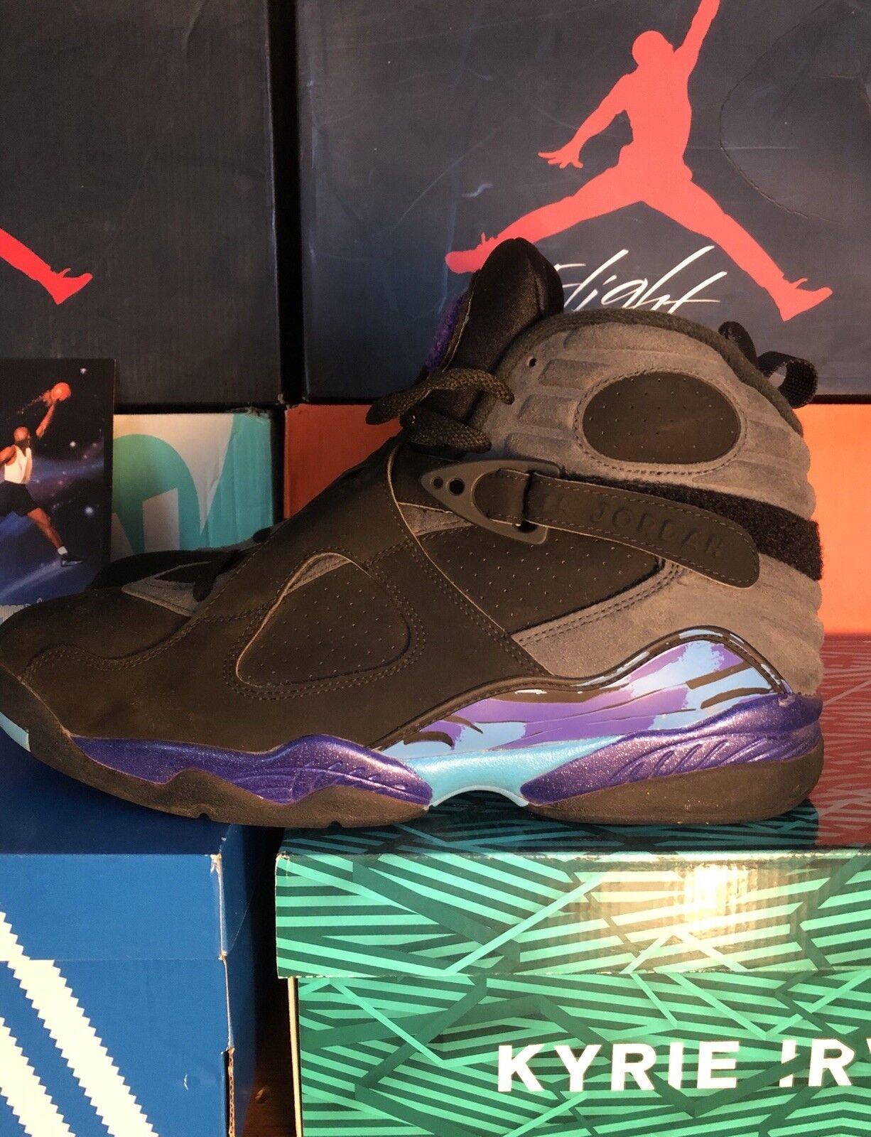 370916116a8 Men Air Jordan size 11.5 Aqua 8 neihtb9188-Athletic Shoes