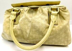 Louis-Vuitton-Monogram-Mini-Lin-Trapeze-PM-Hand-bag-Auth-Beige-M40061