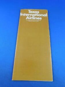 TEXAS-INTERNATIONAL-AIRLINES-DOMESTIC-INTERNATIONAL-TIMETABLE-JANUARY-1972