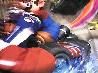 Mario Kart Wii Double Size Duvet Cover Only Bedding Nintendo