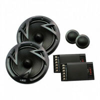 (2) 6.5 Component Speakers.pair.6-1/2.woofers.w/ Tweeters.shallow Mount.