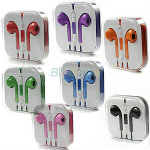 2eb45b1178e Image is loading 8-Color-Choose-EarPods-Stereo-Earphone-Volume-Remote-