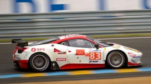 #83 Ferrari 458 JMB Racing 2012 1//25th 1//24th Scale Waterslide Decals