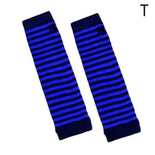 Women Wrist Arm Knitted Mitten Long Winter Hand Warmer NE 2021 Fingerless M2B4