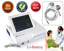 Fetale /prenatale Heart Monitor,ultrasuoni FHR TOCO fetale marchio Move+batteria