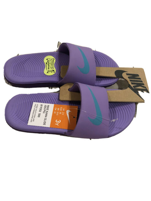 Nike Kawa Slide Sandal Girls Size 3