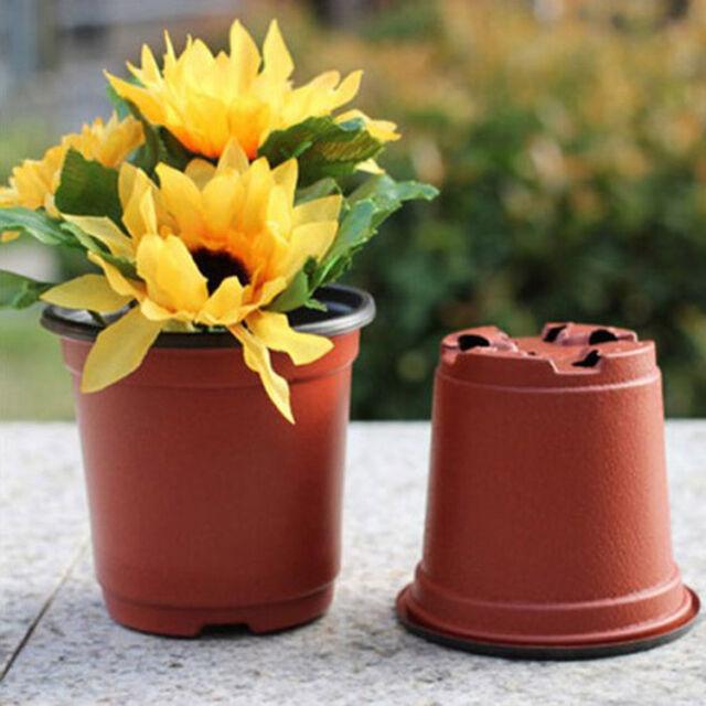 """20pcs Plastic Pots BOX 4"""" Inch PLASTIC FLOWER NURSERY POTS Wholesale Easy"""