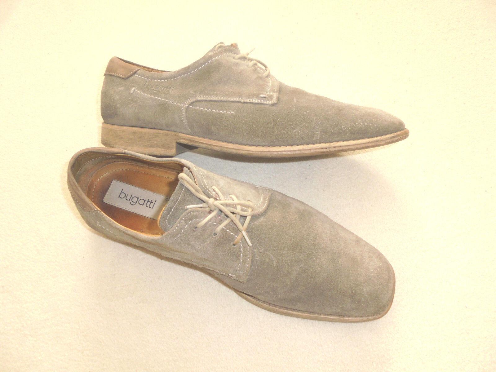 Bugatti Herren Schuhe Halbschuhe Gr Mens Shoes Lederschuhe Schnürer Gr Halbschuhe 40 c75a29