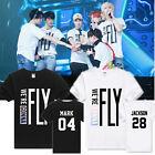 KPOP GOT7 1st Concert FLY IN SEOUL Tshirt Jackson T-shirt Tee Cotton Unisex Mark