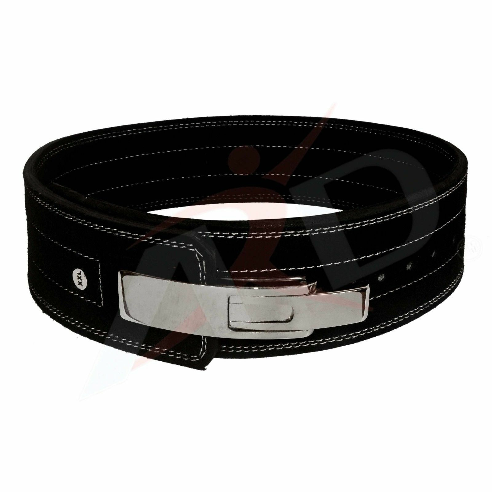 PowerLifting Leather Lever 10mm Power Lifting Belt (M) - titan inzer pioneer