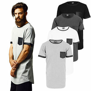 URBAN-Classics-T-Shirt-extra-lunga-long-shirt-tee-oversize-ECOPELLE-tb827