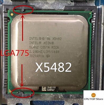 Intel Xeon X5472 3GHz Quad-Core CPU Compatibility to LGA775 no need adapter