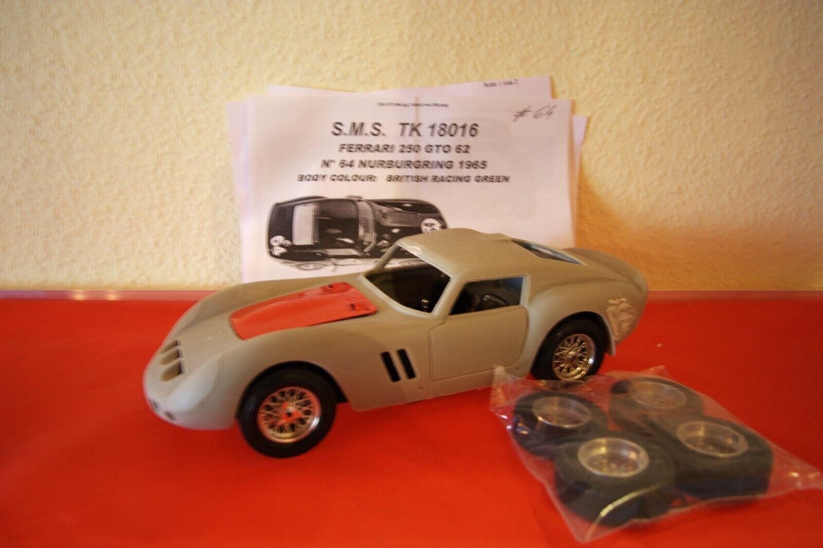 1 18 Ferrari 250 GTO Sutcliff  64 Resin Kit