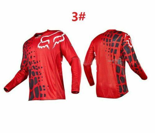 Hot FOX Racing 180 Riding Jersey T-shirts Men Motocross//MX//ATV//BMX//MTB Dirt Bike