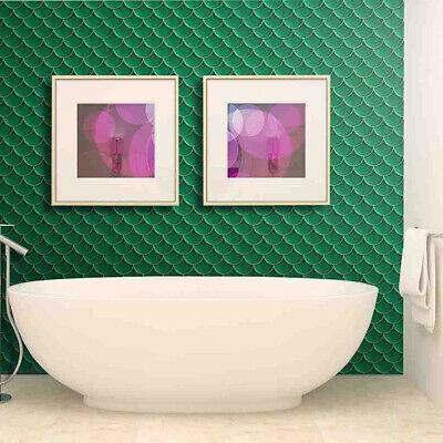 20x50cm Adhesive Tile Art Metope Wall Decal Sticker DIY Kitchen Bathroom Decor