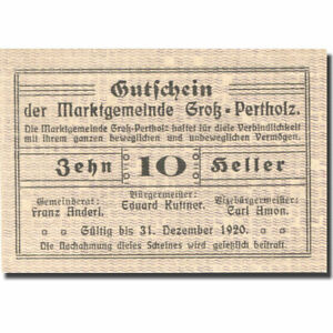 277195-Banknote-Austria-Gross-Pertholz-10-Heller-face-value-1920-UNC-63
