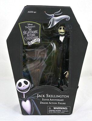 Jack Skellington-Nightmare Before Christmas Silver Anniversary Action Figure