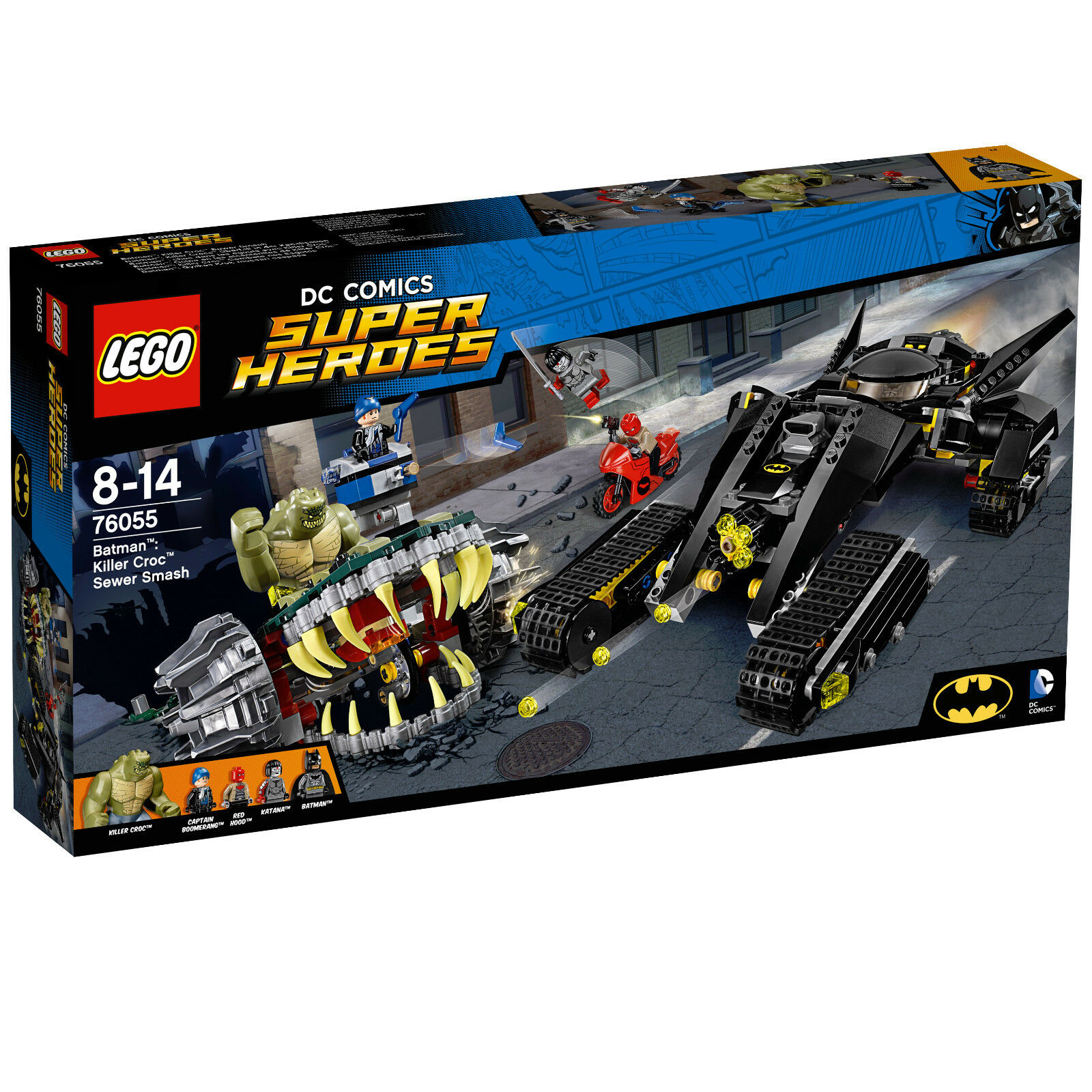 LEGO® DC Super Heroes 76055 Batman™  Killer Crocs™ Überfall, NEU & OVP    Verrückter Preis, Birmingham
