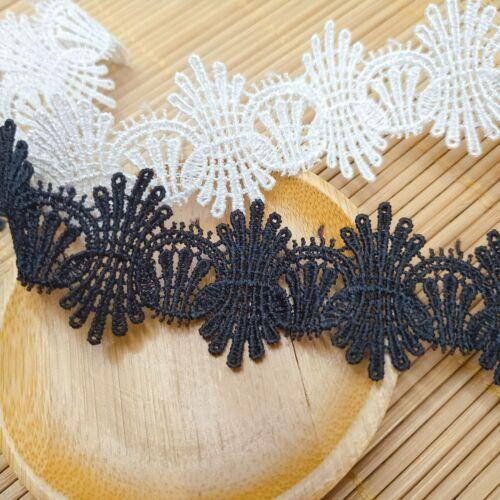 13 Designs Gothique Art Déco Fine Délicate Dentelle de Couture Ruban Craft Dress