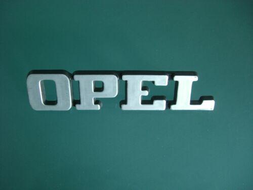 Emblem 2 Befestigungsstifte Pins 22 mm hoch Badge Opel ca 95 mm lang