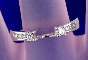 28-CT-Total-Weight-Genuine-Diamond-RingGuard-2-4-Grams-14kt-White-Gold