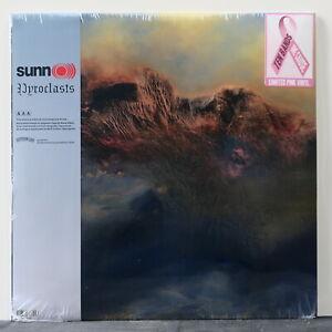 SUNN-O-039-Pyroclasts-039-Ltd-Edition-PINK-Vinyl-LP-NEW-SEALED