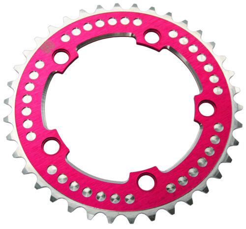 Chop Saw III BMX single speed bicycle 7075 chainring 38T 110mm bcd HOT PINK