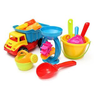 Beach-Sand-Play-Toys-Set-21pcs-set-Bucket-Rakes-Sand-Wheel-Watering-Sand-Toy-EO