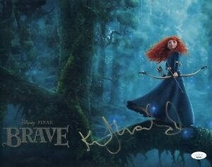 KELLY-MACDONALD-Signed-BRAVE-11x14-Photo-In-Person-Disney-Autograph-JSA-COA