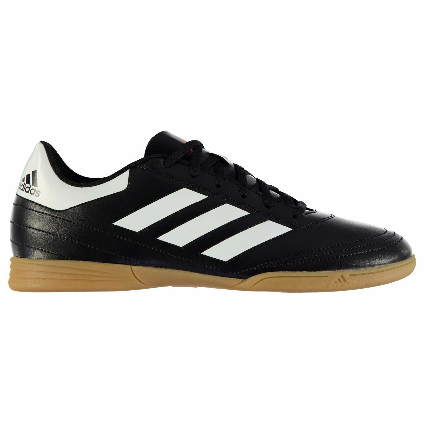 Adidas Goletto Indoor Trainers Mens Bk Wh Football Soccer Fusbal shoes Sneakers