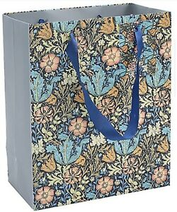 "William Morris Compton Gift Bag -  Size Medium 9"" x 7.5"""