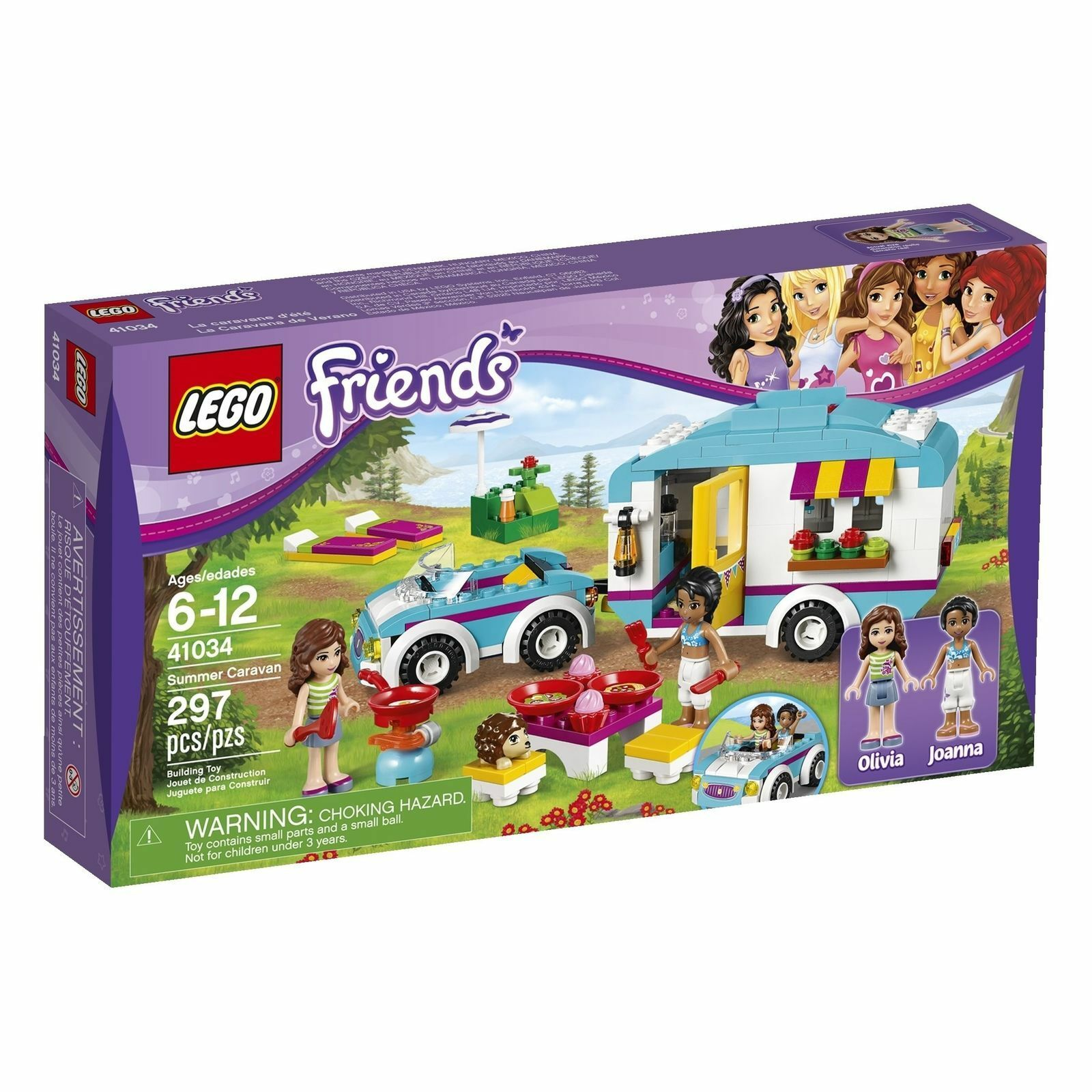 LEGOFRIENDSSummer Caravan Building Set41034NEWSEALED BOX