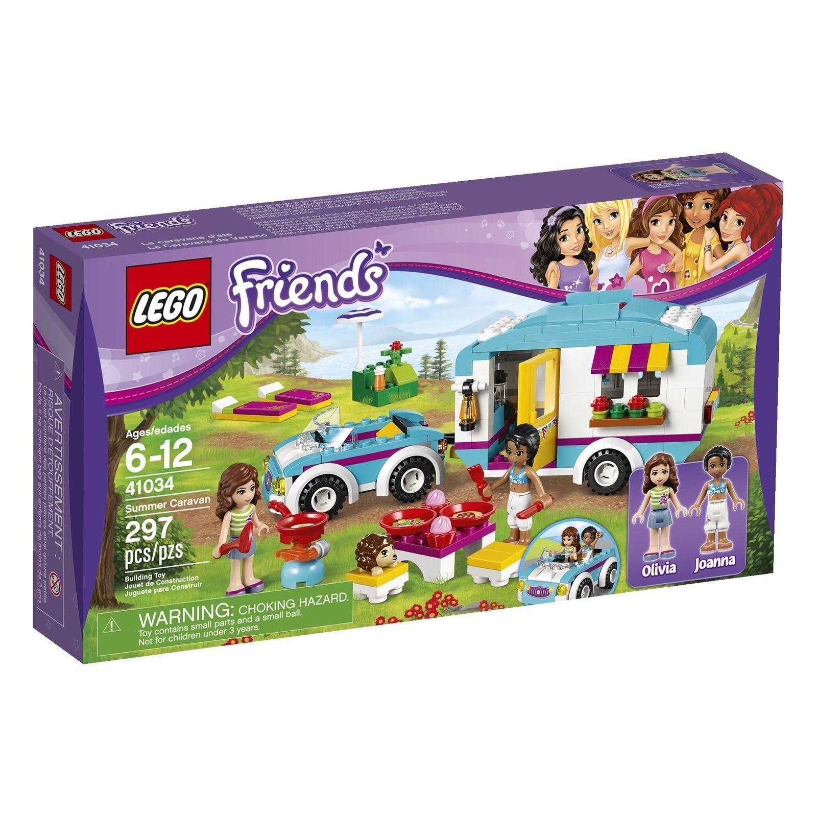 LEGOFRIENDSSummer  autoavan costruzione Set41034nuovoSEALED scatola   design unico
