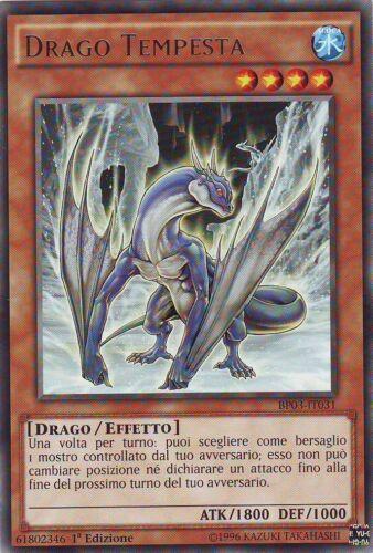 Drago Tempesta BP03-IT031 Ita 1 Ed. Blizzard Dragon YU-GI-OH