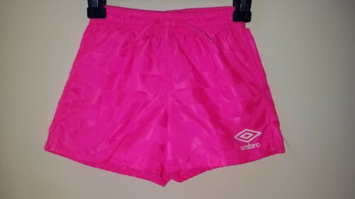 Umbro Soccer Shorts Pink Size XL 18-20 NEW!