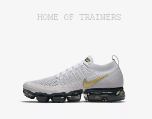 new specials amazon exclusive shoes Details about Nike Air VaporMax Flyknit 2 Vast Grey Pure Platinum Dark Girl  Women's Trainers