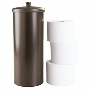 Image Is Loading Brown Toilet Paper Holder Free Standing Spare Roll
