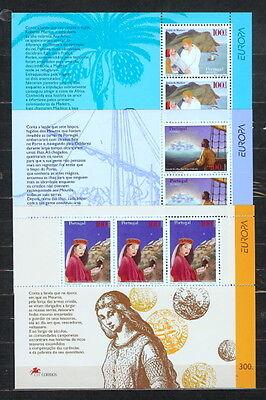 Azoren U Madeira ** Wohltuend FüR Das Sperma Europa Cept 1997 3 Blocks Portugal