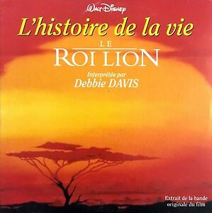Debbie Davis ‎CD Single L'Histoire De La Vie - France (EX/EX)