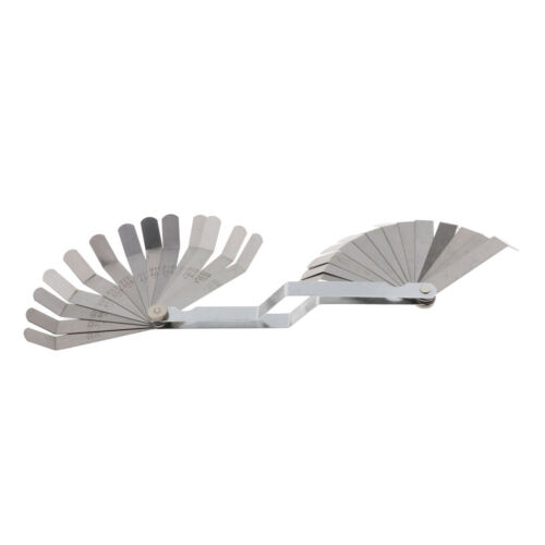 "26 Blades Offset Feeler Gauge METRIC /& SAE 0.127mm -0.762mm 0.03/"" 0.005/"""