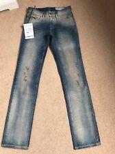 NEW Women's Diesel Faithlegg 0813J Regular Straight Jeans W24 L32 (1185)