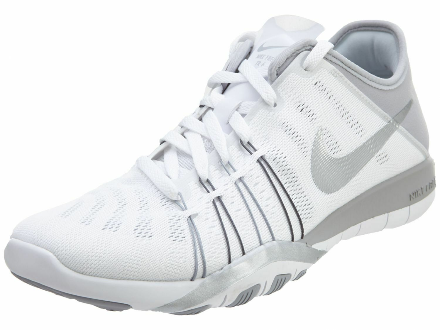 Nike Free TR 6 Women's Running Training shoes White 833413 100 Wild casual shoes