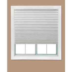 Redi Shade White Paper Light Filtering Window Shades 36 W x 72 L inch, 4-Pack