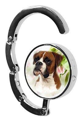 Boxer Dog Table Bag Handbag Purse Hanger Hook-1 by paws2print