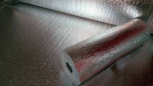 US Energy 3MM Reflective Foam Core Insulation RADIANT BARRIER  48/'/'X25ft roll