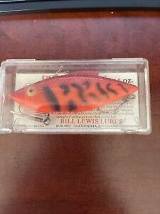 bill lewis MG-27 rat mag trap orange 3/4oz fishing lure