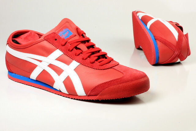 Asics Onitsuka Tiger MEXICO 66 HL7C22301 Unisex Casual shoes RED RED RED bluee White New b8697f