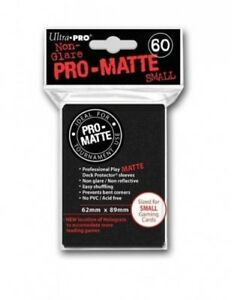Ultra Pro Pro-matte Deck Protector Sleeves Small 60ct Black